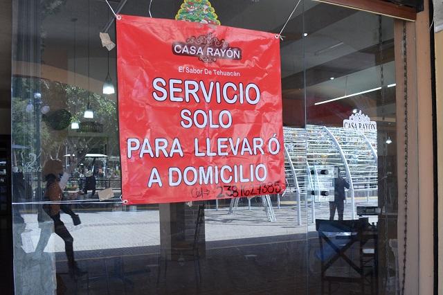 Restauranteros de Puebla adoptan campaña 'Abro hoy o Cierro para siempre'