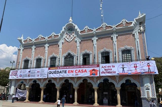 Por Covid-19 ayuntamiento de Tehuacán baja sus ingresos en un 80%