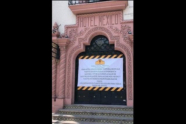 Inician con el cierre de hoteles en Tehuacán por Covid-19