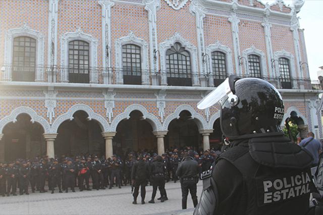 Someten a evaluación a más de 200 policías municipales de Tehuacán