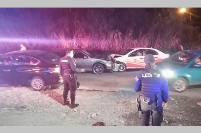 Aumentan detenciones a conductores alcoholizados en Tehuacán