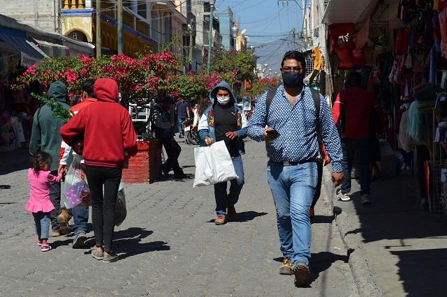 Alza en contagios de Covid llega hasta mil en promedio en Puebla