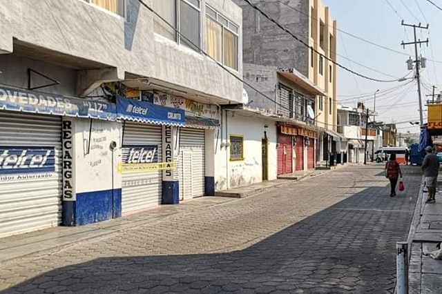 En Tehuitzingo continúan con el confinamiento por Covid