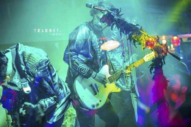 Telebit, rock colombiano para Puebla