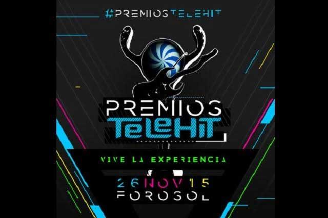 Confirman elenco para premios Telehit 2015