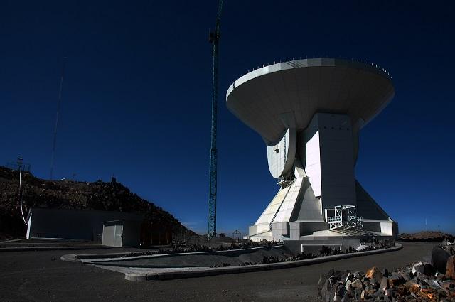 Garantiza Conacyt fondos al Gran Telescopio Milimétrico