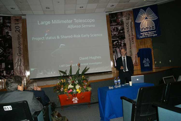 Celebran 20 años del Gran Telescopio Milimétrico