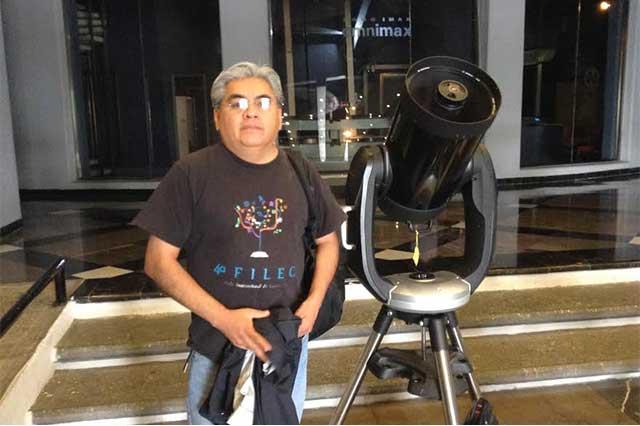 Instalan telescopios en 13 sedes de Puebla por Noche de las Estrellas