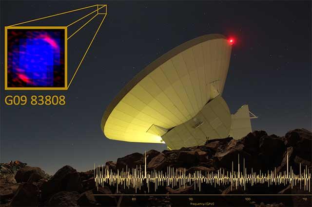 Detectan con el Gran Telescopio una de las galaxias más lejanas