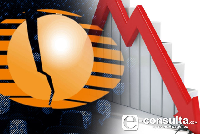 Televisa reporta peores pérdidas en 10 años, acciones caen más de 10%