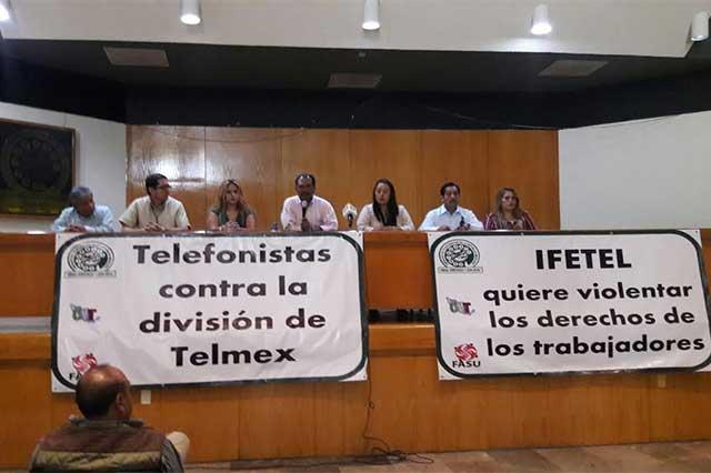 Se alistan telefonistas para ir a huelga el 25 de abril