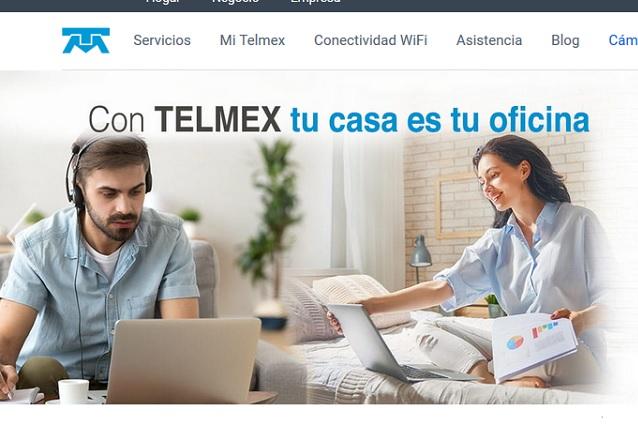 Foto / captura de pantalla Telmex