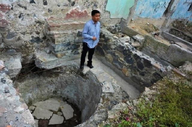 Video: hallan temazcal prehispánico en calle de La Merced, CDMX