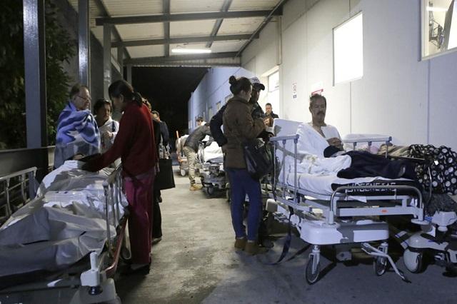 Así vivieron los poblanos el sismo en el Hospital San Alejandro