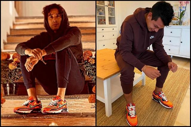 Ochoa y Chucky Lozano presumen colección Nike 'Día de Muertos'