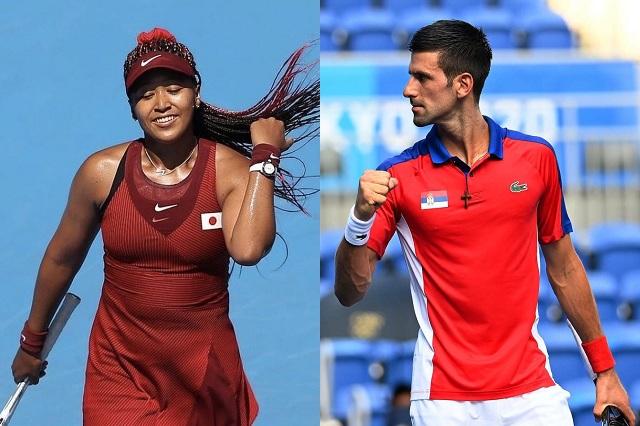 Tenis: Osaka y Djokovic, a paso firme en Tokio 2020