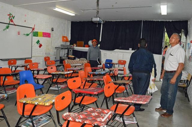 Pérez Tenorio apuesta por la educación en Cholula
