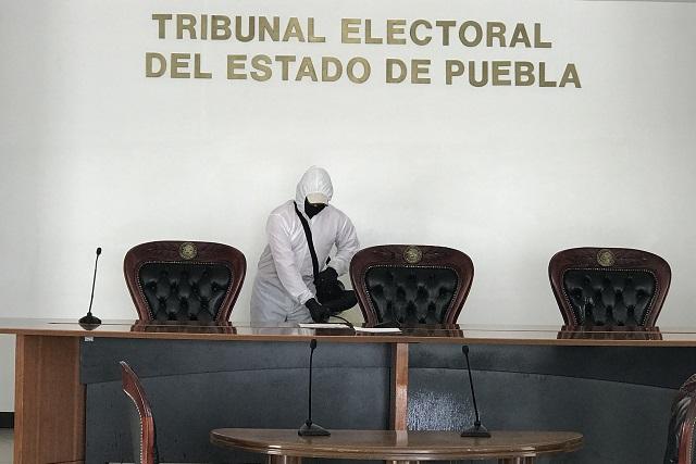 TEEP decidirá si regidores de Puebla donan compensación