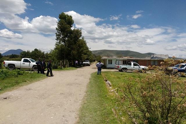 Fuerte movilización policiaca en Tepeaca incluso con helicópteros