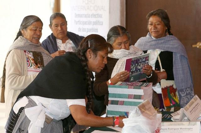 TEPJF mantiene asesorías a comunidades indígenas