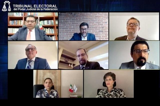 TEPJF: partidos en Hidalgo pueden dar mayoría de candidaturas a mujeres