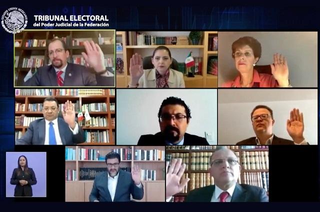 TEPJF rechaza impugnaciones a última encuesta para dirigencia de Morena