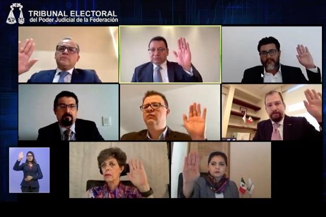 El TEPJF ordena al INE renovar la dirigencia nacional de Morena