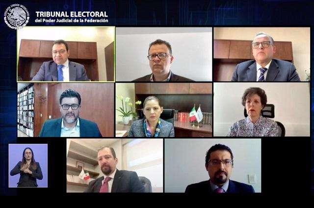 TEPJF desestima impugnaciones de Muñoz Ledo y Polevnsky por encuesta