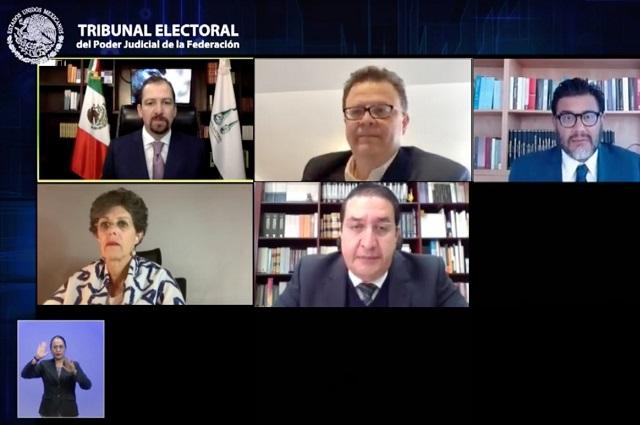 TEPJF confirma validez de coalición parcial Va por México para diputados
