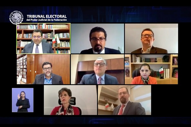 TEPJF ordena al INE dar registros a presidente y secretaria de Morena