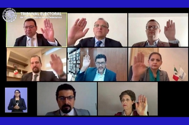 TEPJF avala cambios realizados  por el INE a proceso interno de Morena