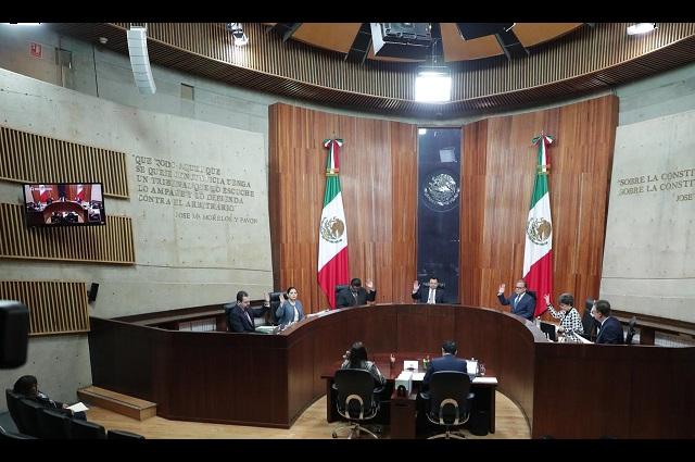 TEPJF revoca petición sacar de Morena en el Senado a Lilly Téllez