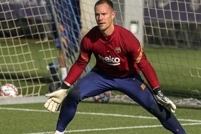 Ter Stegen vuelve a titularidad con Barça tras 82 días inactivo