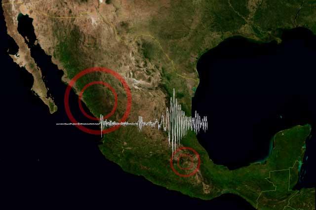 Jueves de sismos en Sinaloa y Morelos, sin generar daños