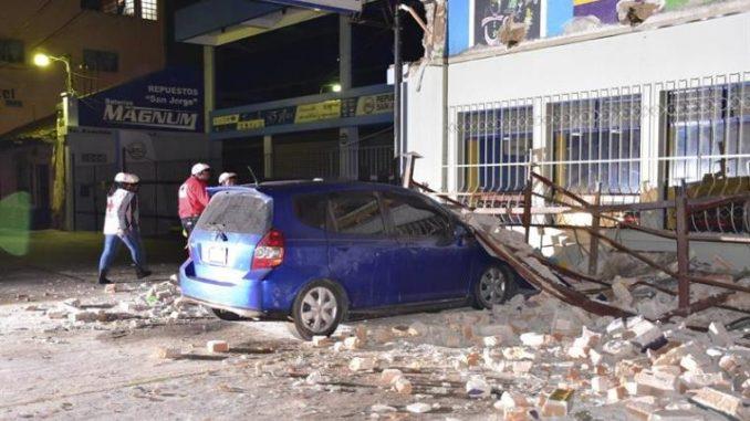Sismo de 6.9 grados en Guatemala mató a 5 personas
