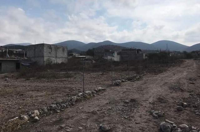 Acusan reventa de terrenos en San Diego Chalma