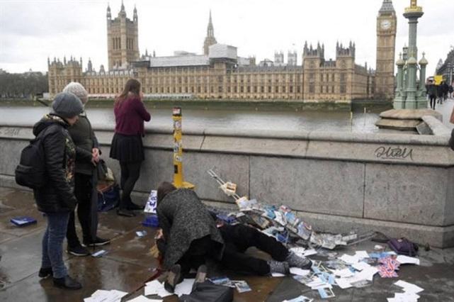 Ataque terrorista en Londres dejó un saldo de 4 muertos y 20 heridos