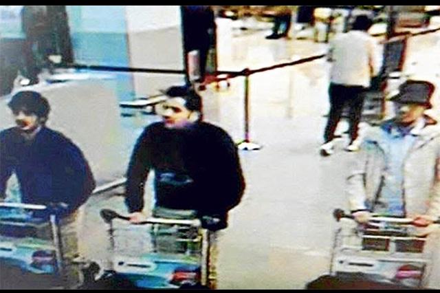 Bélgica pide apoyo para localizar al terrorista del sombrero