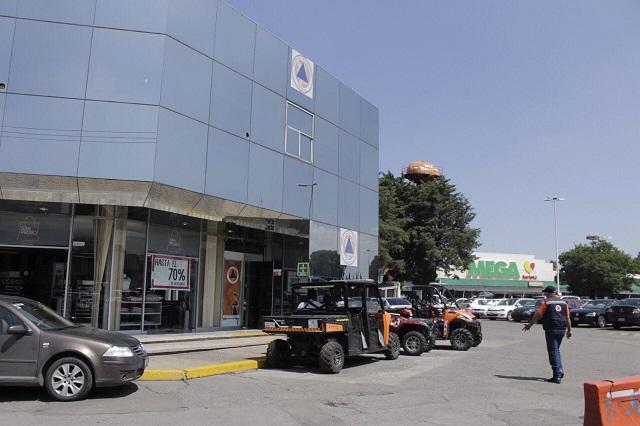 Tesorería de Puebla habilita ventanilla en Plaza San Pedro