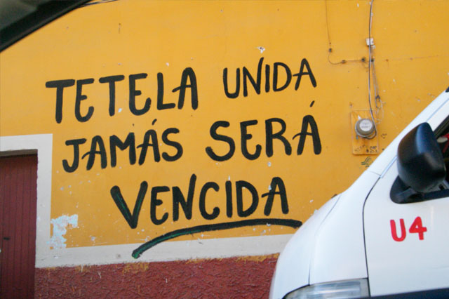 En Tetela reiteran rechazo a la Minera Frisco
