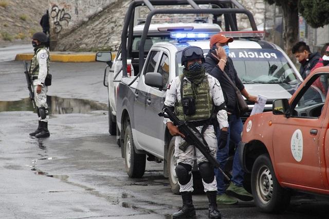 Escalan asesinatos, asaltos y robo de vehículos en Texmelucan