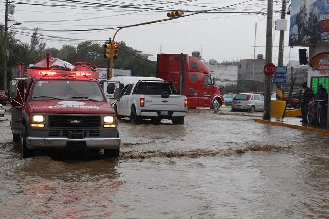 Ambiente helado y lluvias en Puebla por Frente Frío 13
