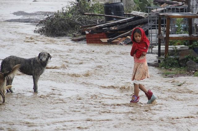 Se esperan lluvias fuertes en regiones de Oaxaca,Puebla y Veracruz