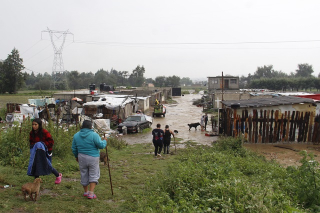 Entra Puebla en estado de emergencia por lluvias y fríos