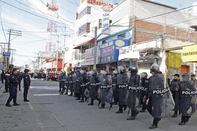 Bloquean diputados intento de sanear seguridad en Texmelucan