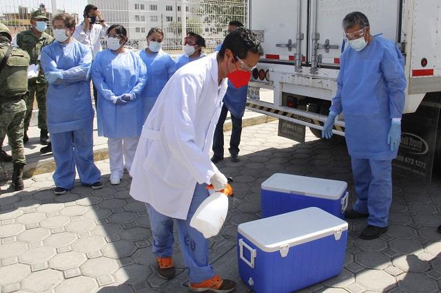 Hasta el jueves, vacunas en la Mixteca; no hay riesgo: Salud