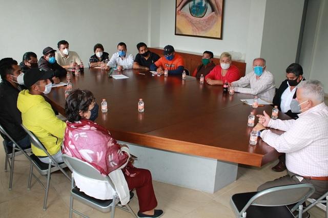 En Teziutlán preparan recinto ferial para la apertura del tianguis