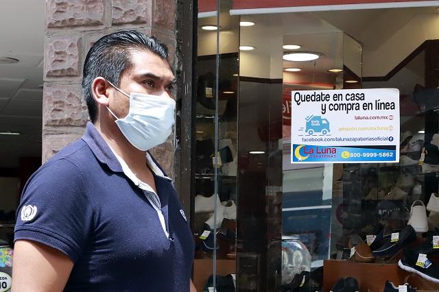 Inicia IP promoción intensiva del cubrebocas en Puebla