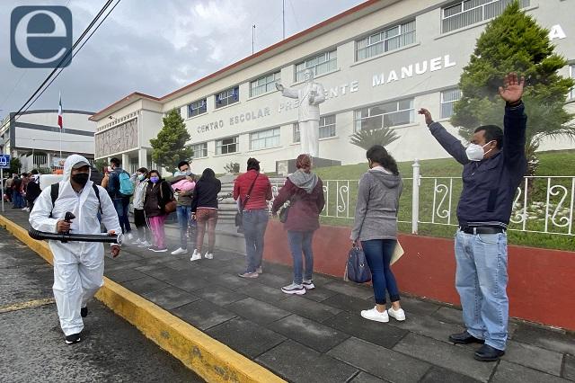Contagios covid mantienen alza en Puebla: 519 en 1 día