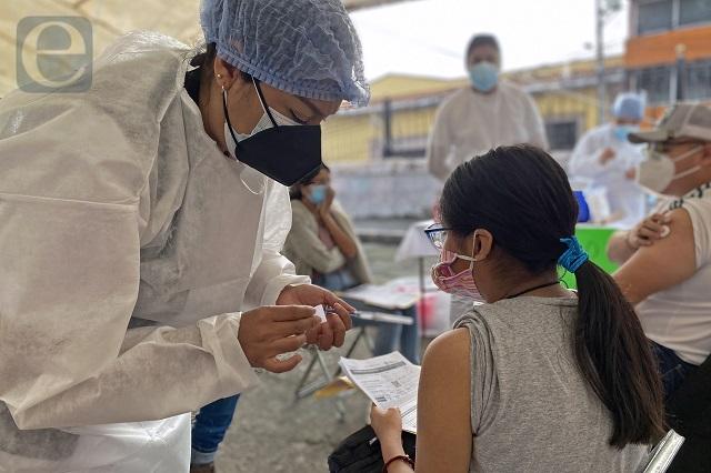 Lista, vacuna para los de 18 años y más en 12 municipios